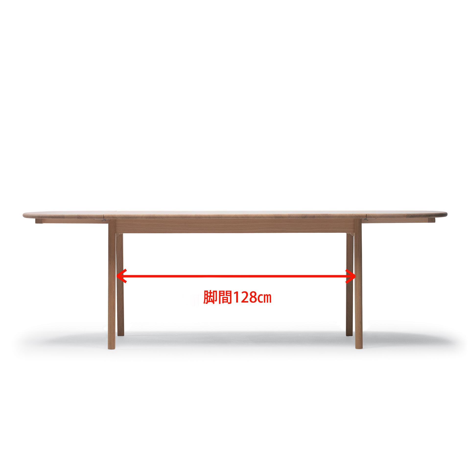 テーブルch006の脚間