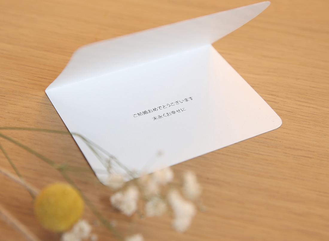 包装紙へのこだわりCONNECTらしさの追求。