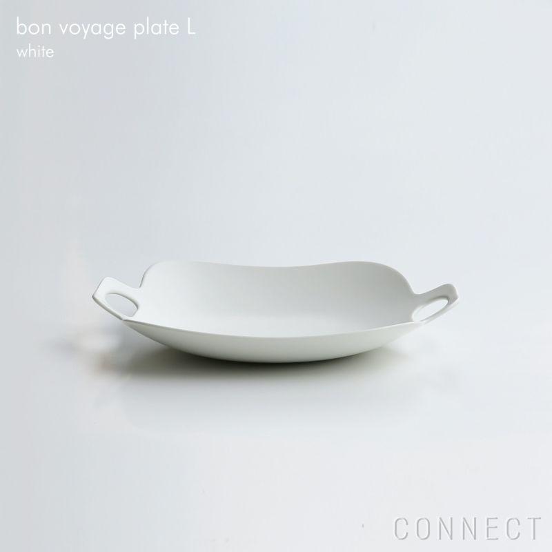 yumiko iihoshi porcelain (イイホシユミコ) bon voyage (ボンボヤージュ) プレート L