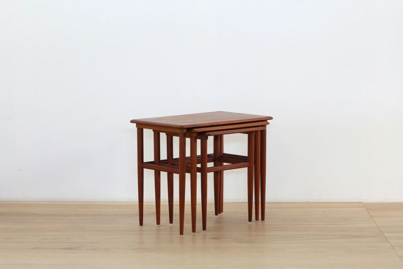 ネストテーブル(vd1901-132) 【北欧ヴィンテージ】