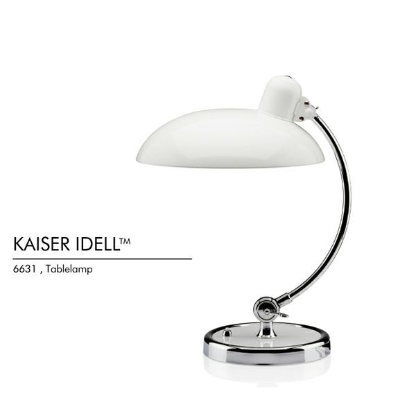 Fritz Hansen(フリッツ ハンセン) KAISER IDELL(カイザー・イデル)   Luxus テーブルランプ・デスクスタンド ホワイト