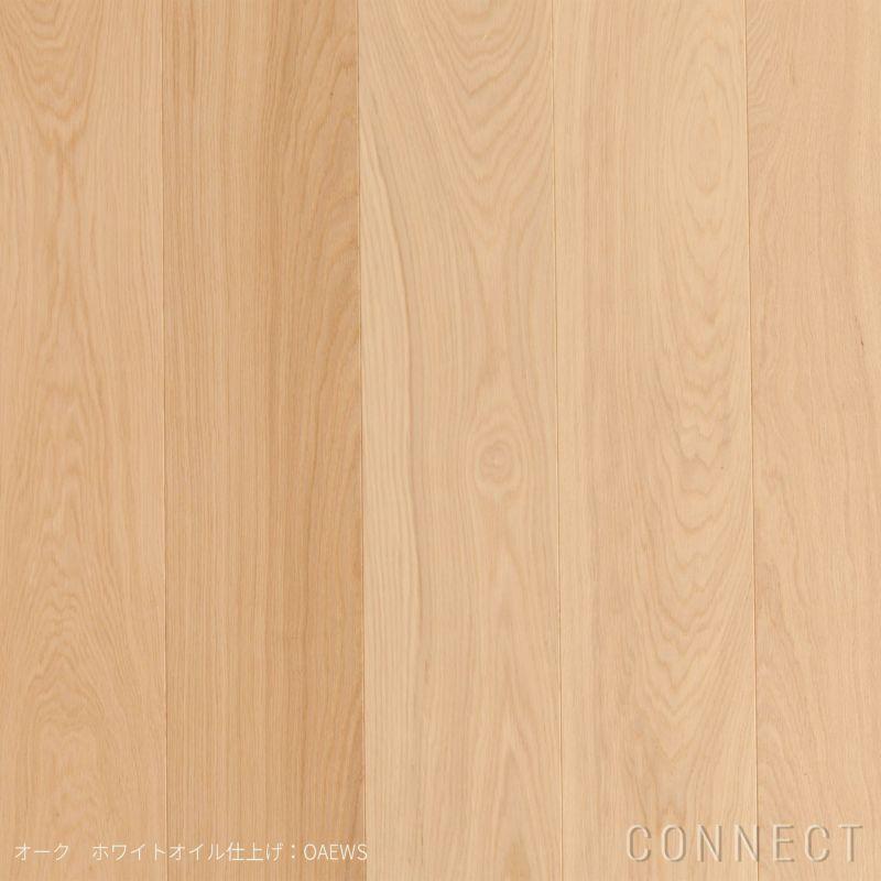 Wide Plank ワイドプランク / フローリング / オーク ホワイトオイル仕上げ 1パック