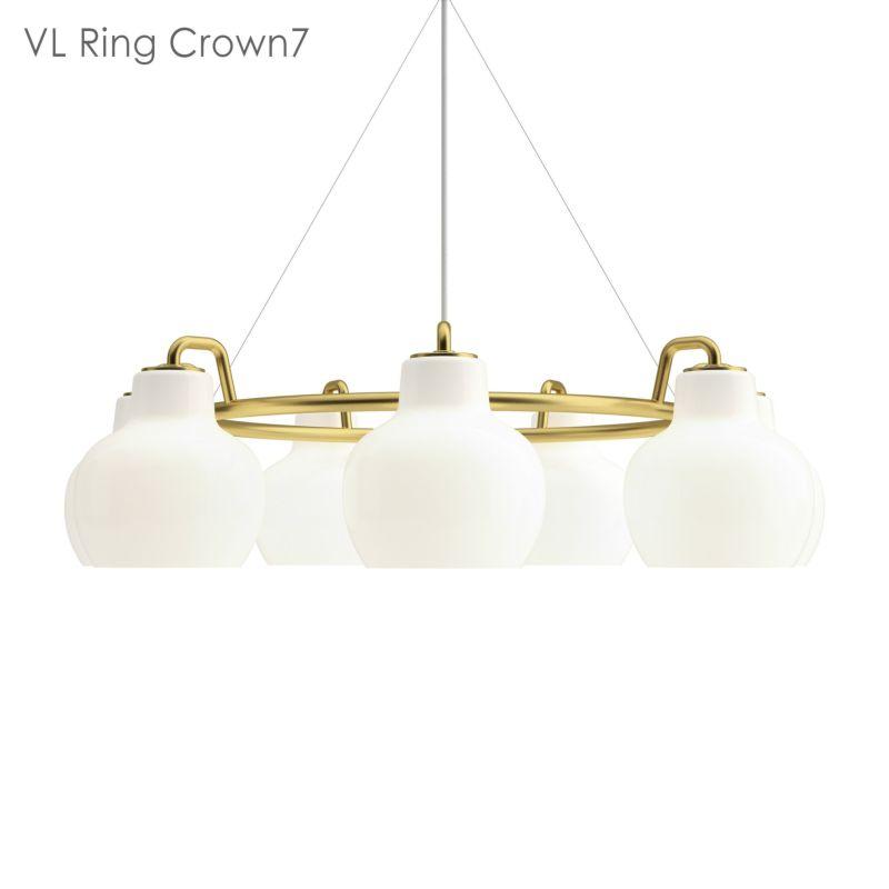 louis poulsen(ルイスポールセン) / VL Ring Crown 7(リングクラウン)ペンダントライト / 7灯
