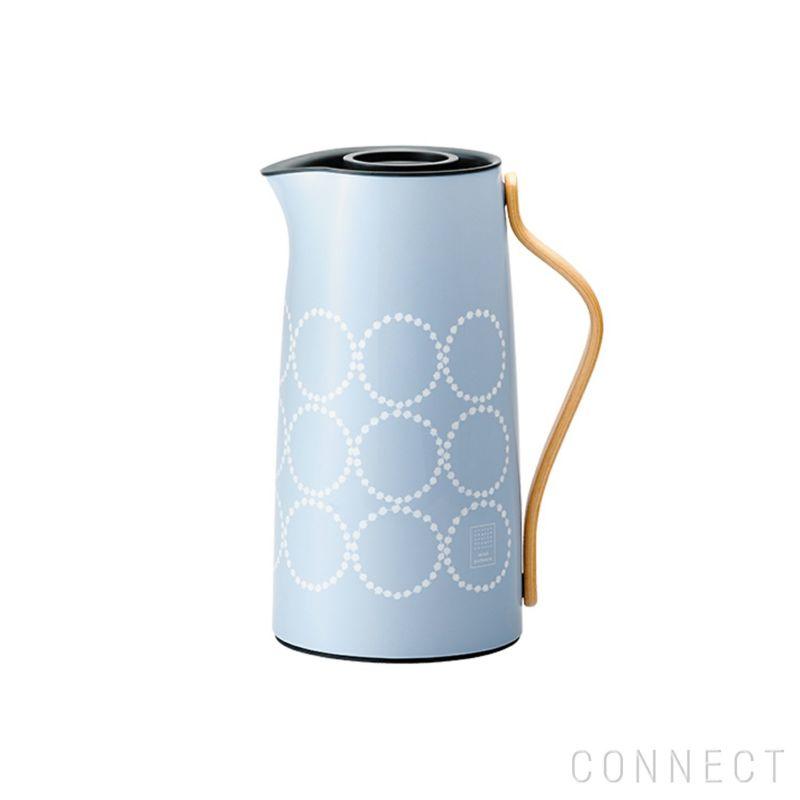 Stelton(ステルトン)×mina perhonen(ミナ ペルホネン)/ Emma(エマ) バキュームジャグ Coffee(コーヒー) タンバリン ブルー 1.2L