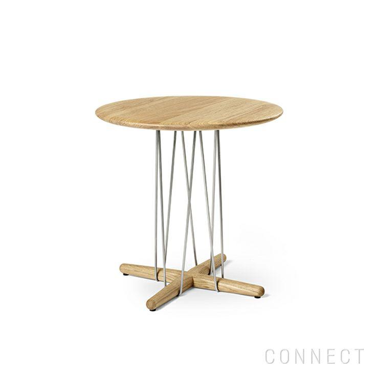 CARL HANSEN&SON (カールハンセン&サン) E021 / EMBRACE LOUNGE TABLE / オーク材・オイル仕上げ / φ48cm