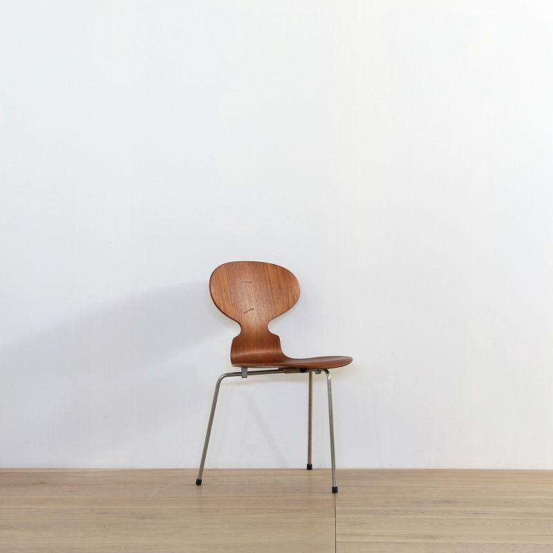 Arne Jacobsen(アルネ・ヤコブセン) / アントチェア3本脚(vd160430-67-4) 【北欧ヴィンテージ】