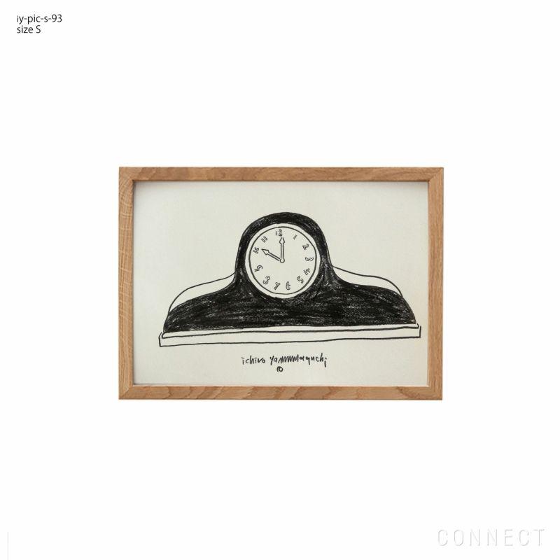 山口一郎 / Sサイズ / Clock / 時計 / iy-pic-s-93