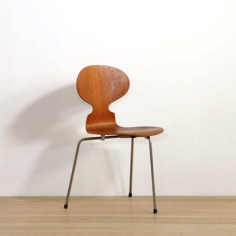 Arne Jacobsen(アルネ・ヤコブセン)/ アントチェア3本脚 アリンコチェア(vd160430-67-05) 【北欧ヴィンテージ】