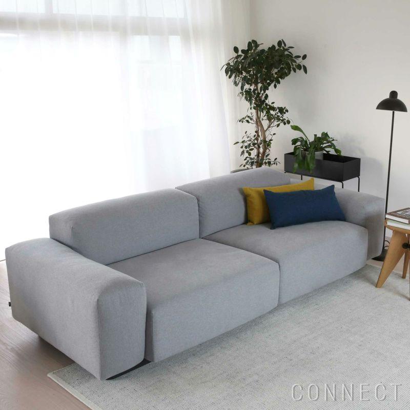 vitra(ヴィトラ) / Soft Modular Sofa(ソフトモジュラーソファ) / Mello(メロ)ペブルグレー / 2シーター