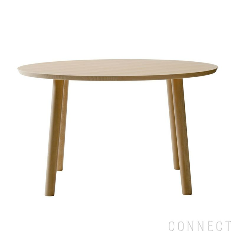 MARUNI COLLECTION(マルニコレクション) / HIROSHIMA / ラウンドテーブル Φ120 / ビーチ材 / ウレタン樹脂塗装(ナチュラルホワイト)