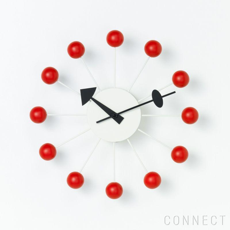 Vitra(ヴィトラ) / Wall Clocks(ウォールクロック) / Ball Clock(ボール クロック) / Red / 掛け時計